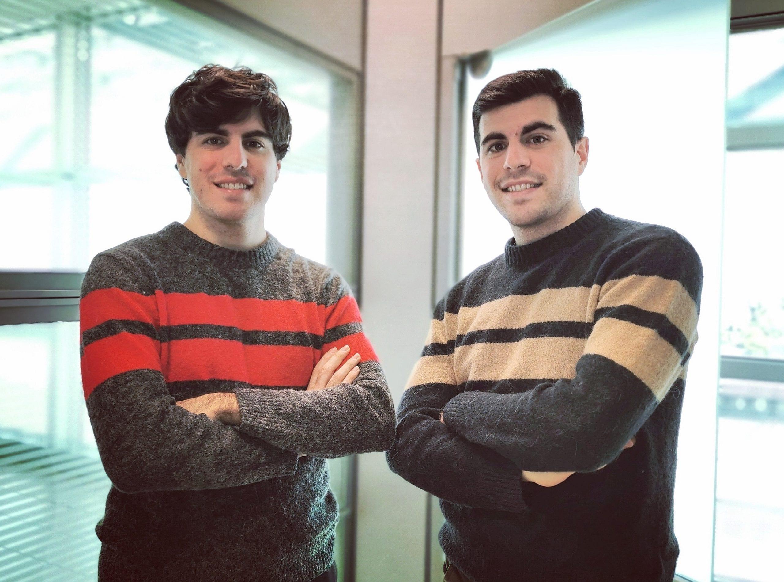 I fondatori di Rinascimento Handmade, Giacomo e Tommaso Chinellato, una piattaforma formativa per creare negozi online