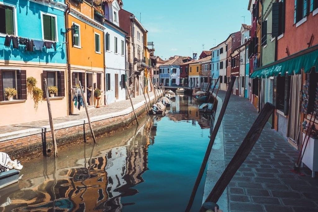 Albergo diffuso sull'isola di Burano a Venezia