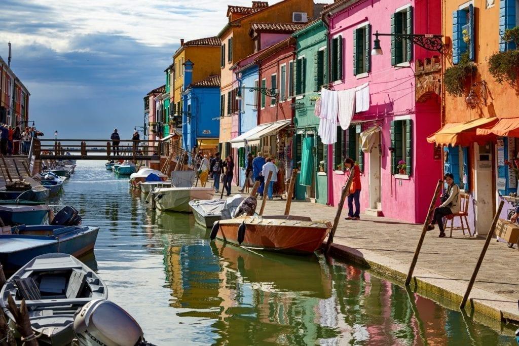 Vacanze sull'isola di Burano