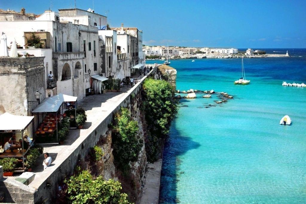 Vacanze al mare in Italia. Otranto (Puglia)