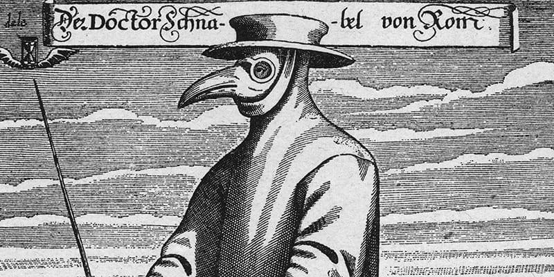 mascherine di stoffa nella storia