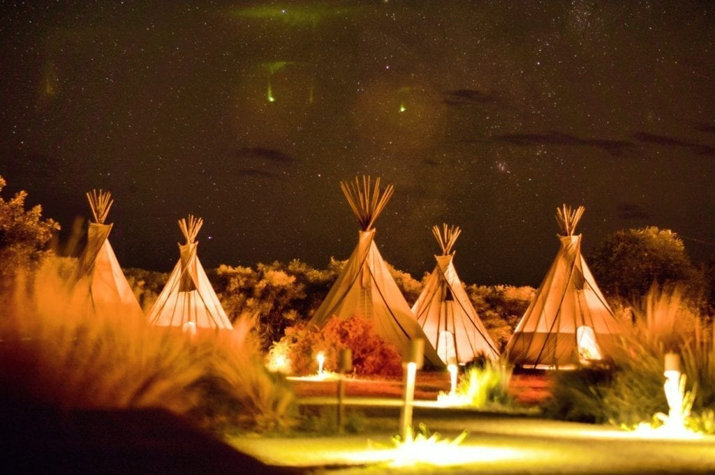 Glamping campeggio a 5 stelle