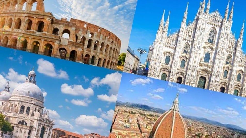Italia, città d'arte vuote: 34 milioni di turisti in meno