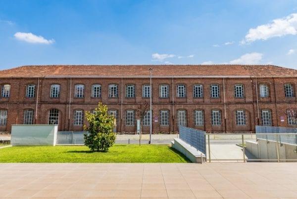 Ivrea-area-industriale-fabbrica-Olivetti. Prima struttura realizzata